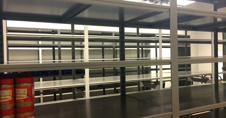 Food Pantry Shelves Are Empty The Salvation Army Of Wake