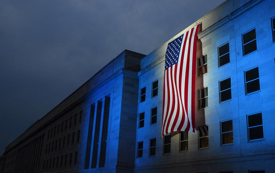 American Flag at the Pentagon