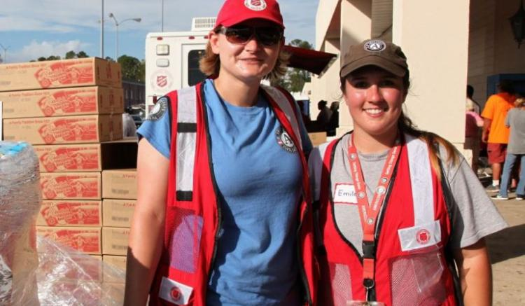 Preview Image for Powerful Partners in Disaster Recovery: Salvation Army and AmeriCorps