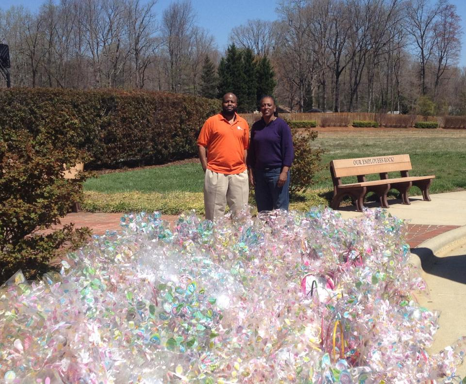 AT&T Pioneer's Easter Basket Donation