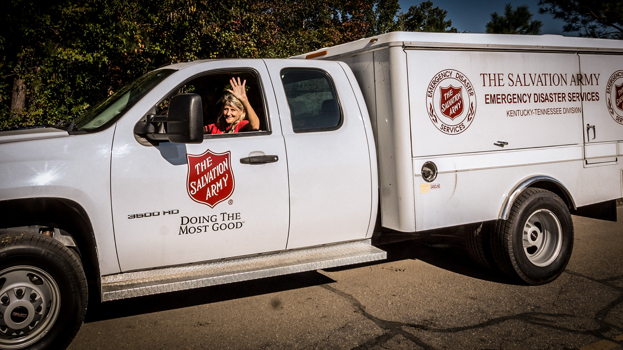 We Serve Because We Love The Salvation Army
