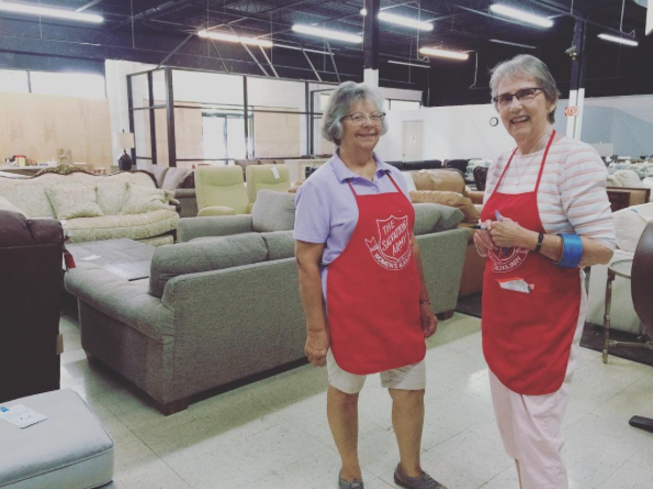 Women S Auxiliary Furniture Sale The Salvation Army